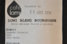 ... and more in-house espresso blends...
