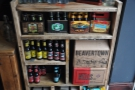 ... and a wide selection of bottled craft beers.