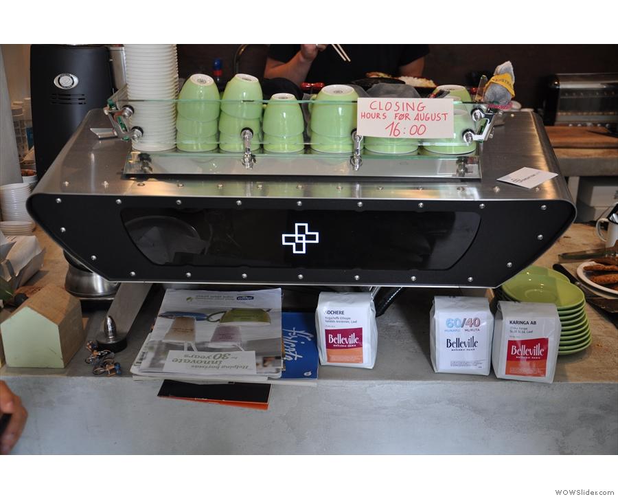 Something from the lovely, Kees van der Westen espresso machine?