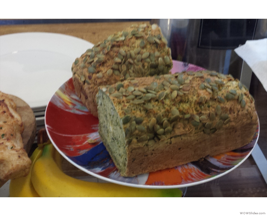 A recent addition, both here and at Paddington, is the broccoli bread.