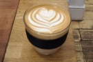 As a result, I got this lovely flat white, every bit as good as the ones at Beany Green.