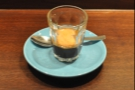 So, down to business, with a Square Mile espresso in a glass.