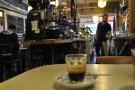My espresso eyes its origins...