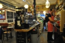 I also got a good view of the baristas at work. I quite enjoyed sitting there.