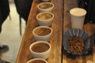 It was quite hard to shoot the actual cupping itself, so you can have this arty shot instead.