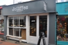 The new-look Jolliffes, resplendent in the spring sunshine...