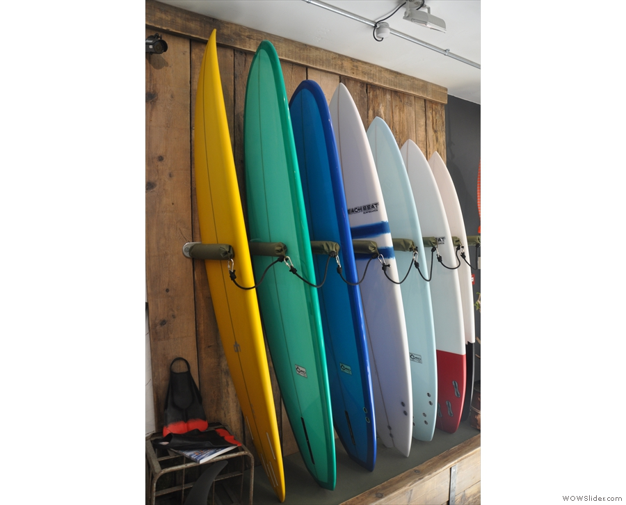 The clues, of course, were always there, starting with the rack of surf boards by the door.