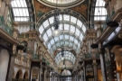Looking down the arcade ...