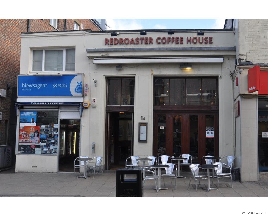Redroaster, on Brighton's St James' Street.