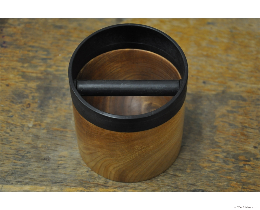 However, Made by Knock is as much about beauty as it is utility: witness the wooden holder.