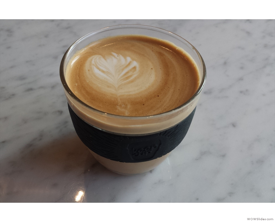 I've started taking KeepCup to KuPP for a morning flat white. No-one tell Beany Green!