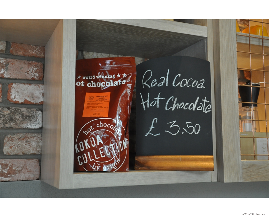 And award-winning hot chocolate.
