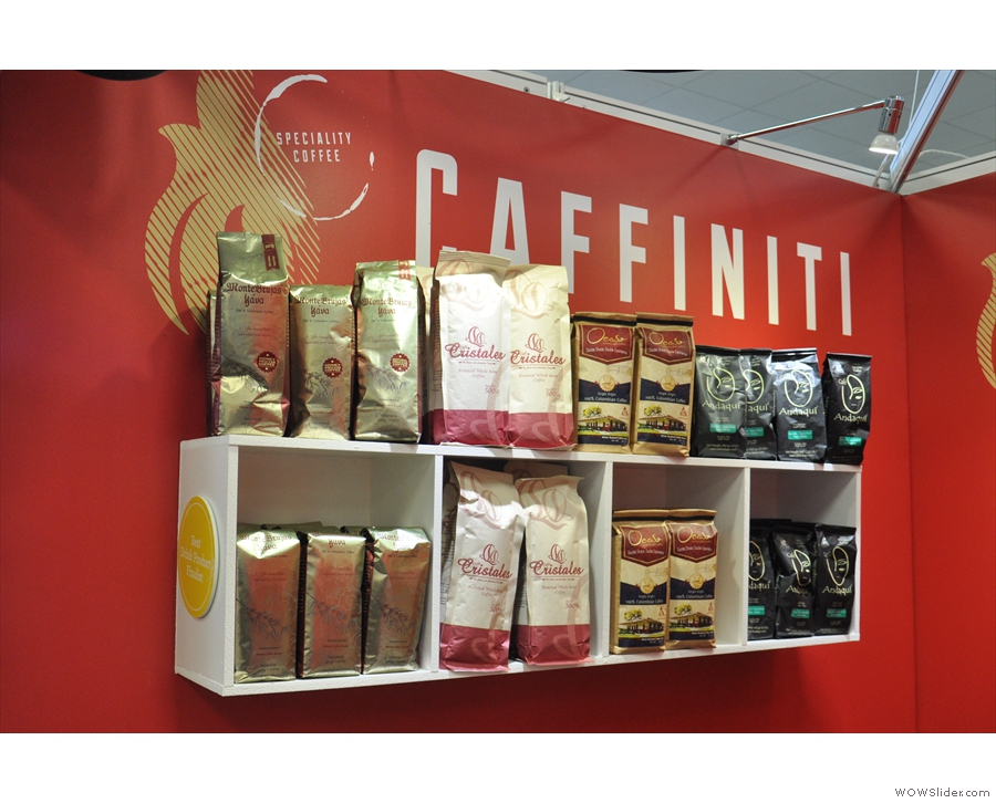 Next we have Caffiniti, which is importing Colombian coffee with a twist.