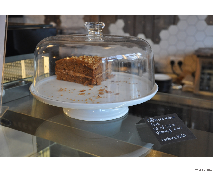 ... and this coffee and walnut one.
