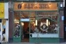 Café Zee on Ealing's New Broadway has an elegant facade...