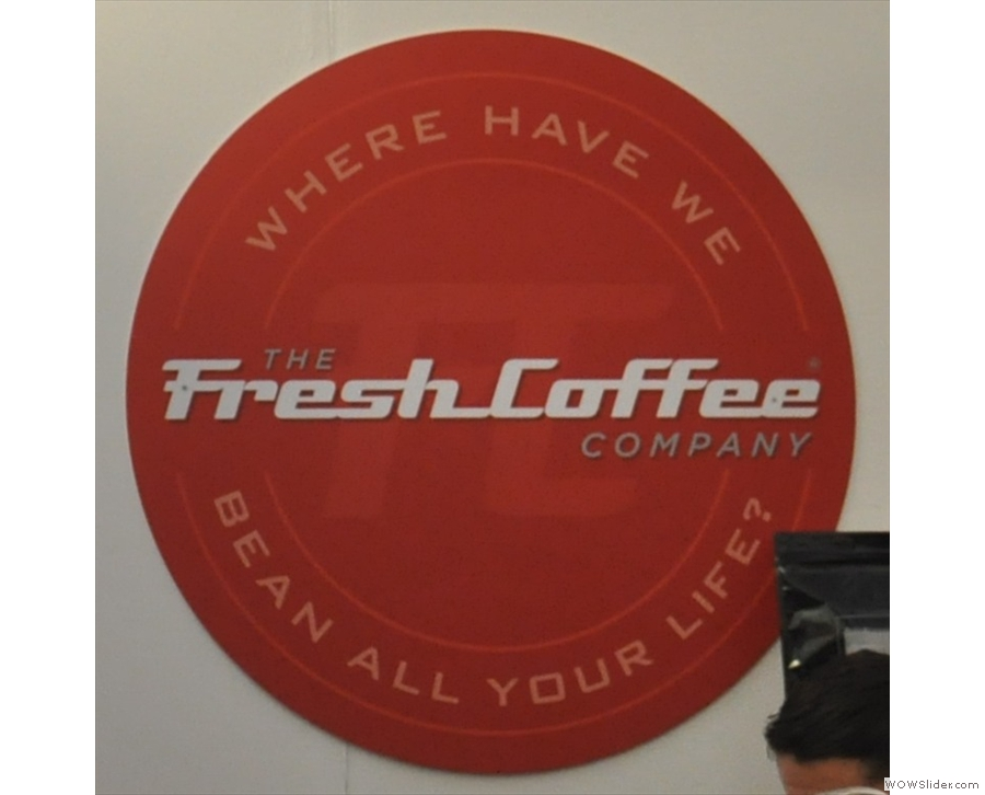 The Fresh Coffee Company at the London Coffee Festival.