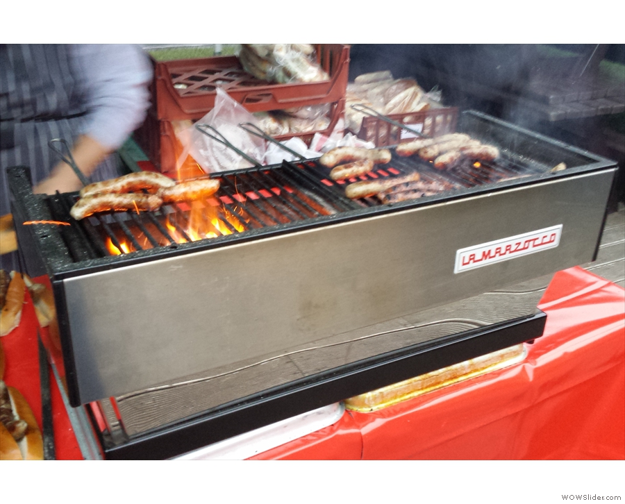Not an espresso machine really: the La Marzocco barbecue!