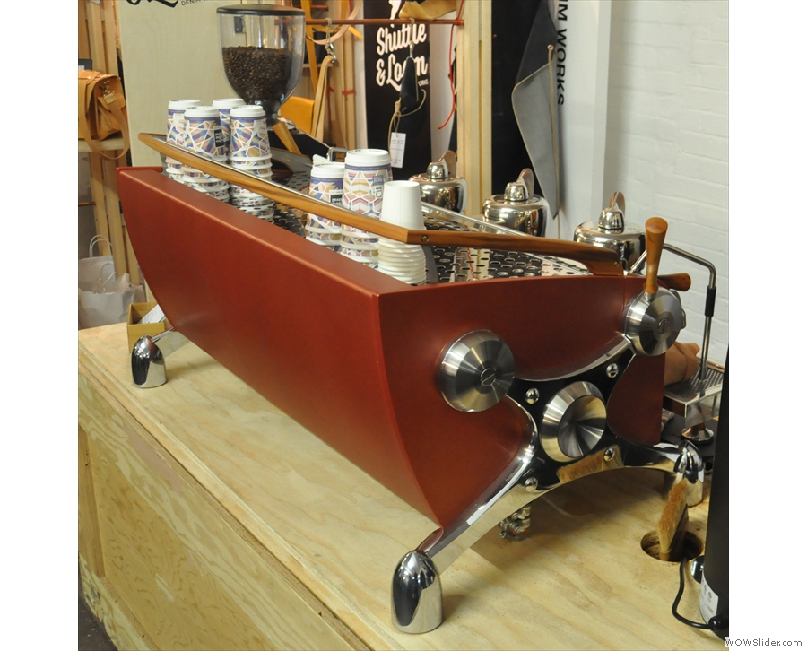 Let's get going with some pretty espresso machines & the prettiest of them all: the Slayer!