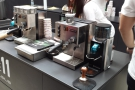 Finally, at the other end of the scale, two Rancilio Silvias & Rocky grinders! My home set-up.