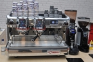 The La Cimbali M100 pressure profile machine.