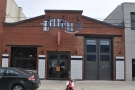La Colombe's flagship store in Fishtown does not look that impressive from the street...