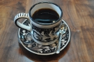 Then all you have to do is serve, in one of La Colombe's amazing, patterned cups.