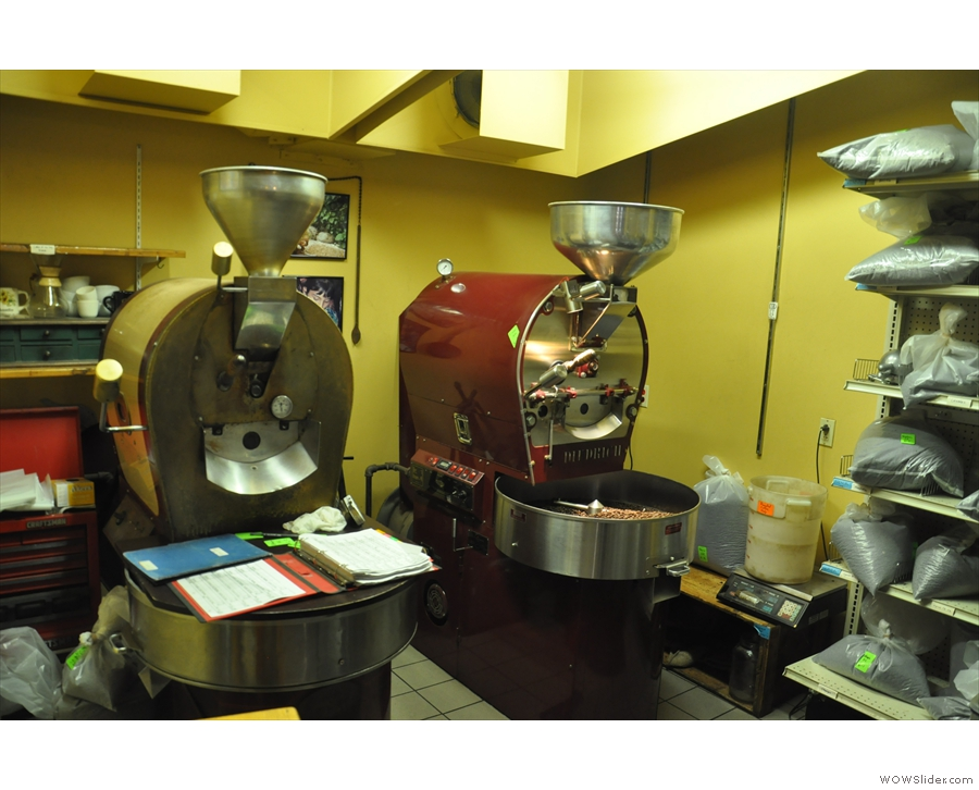 But where does all that coffee come from? Well, step behind the counter and you'll find out!
