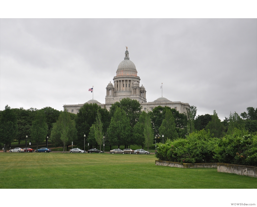 Finally, Providence is home to a rather lovely State Capitol building.