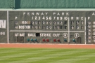 The old-fashioned scoreboard is quite comprehensive if you know how to read it...