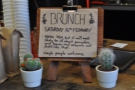 Once a month, Upshot holds its renowned brunches.