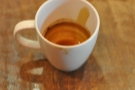 It's always a good sign if, when you have drunk your coffee, the crema coats the cup all the way down to the bottom!