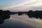 Sunset over the Mohawk River, Schenectady