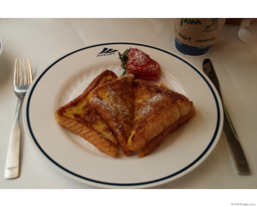 French toast for breakfast, anyone?