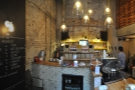 A panoramic view from just inside the door. That's pretty much all there is to Asado...