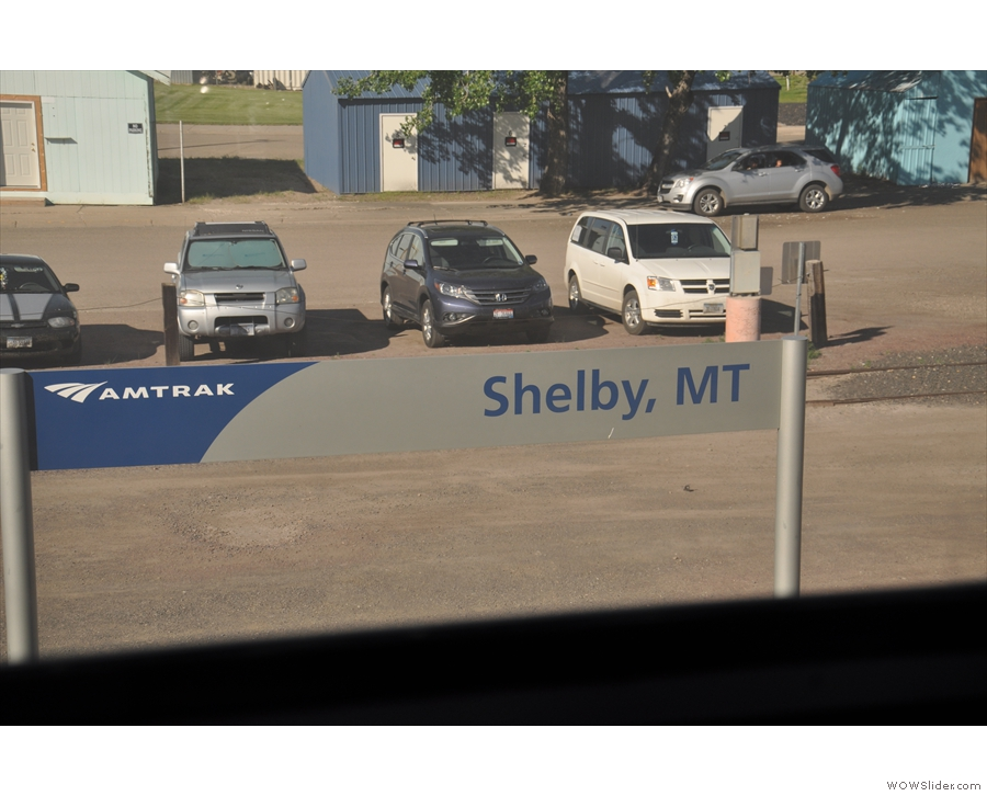 Soon we rolled into Shelby, Montana.