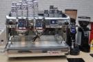 La Cimbali's M100 espresso machine, complete with pressure-profiling.