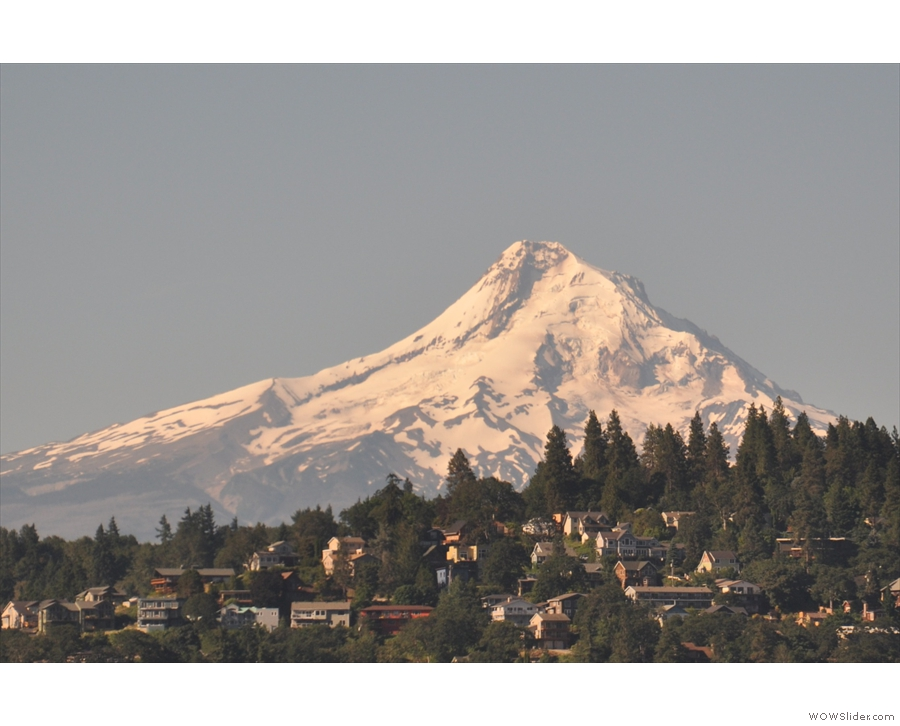 Not only Oregon's highest mountain, Mt Hood's the most prominant, lacking any neighbours.