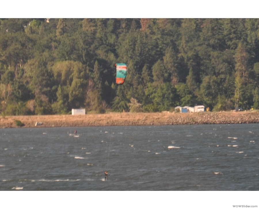 Hood River is, by the way, a major resort for wind-surfing and the like.