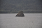... and creating interesting features such as this island/rock.