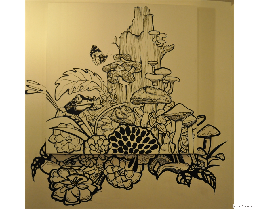 Talking of lovely drawings, here's another one that graces Tamper's walls.