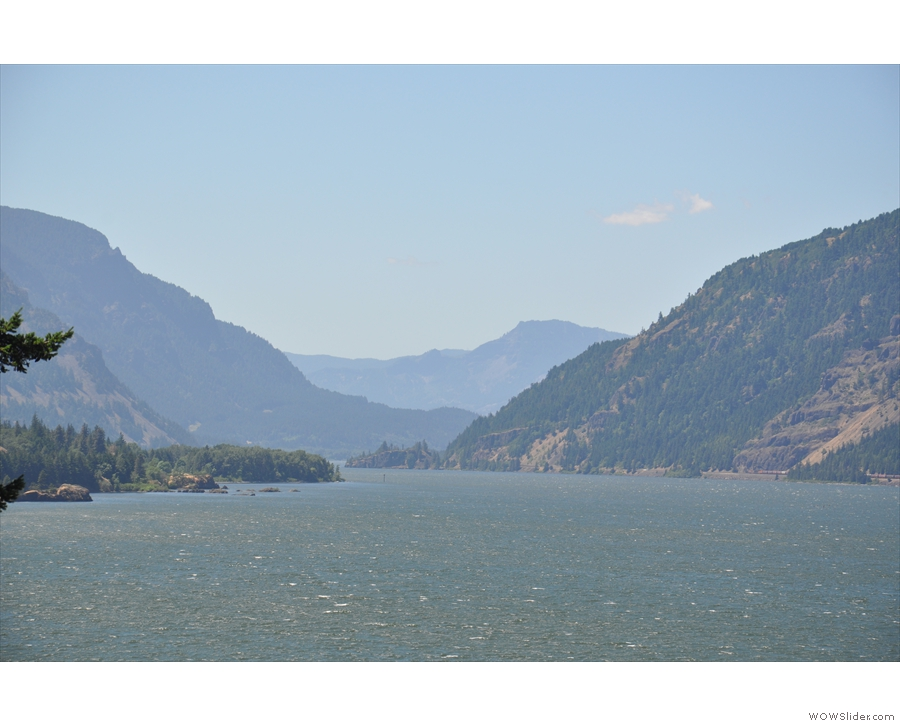 These days, with I-84 speeding along below, it's just a viewpoint. Good views though!