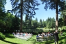 That afternoon I was at Bridal Veil Lakes, where my friend Elisa was getting married to Brian.