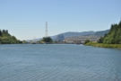 The Bonneville Dam. It all looks so calm from here.