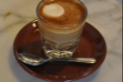 And finally, the lovely, wonderful, cortado!