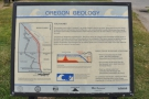 ... and this rather scary information panel in the car park: beware of tsunamis!