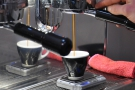 I love watching espresso extract, especially in bottomless portafilters.