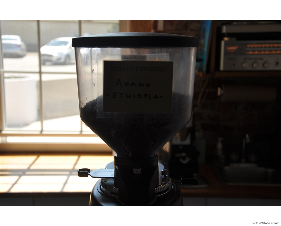 Today's (guest) espresso...