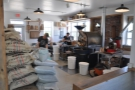 ... and this is the view that greets you: the Tandem Coffee Roastery in full swing!