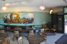 Another panoramic view, this time from the counter looking across the room.