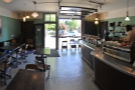 And, having gone inside, a panoramic view from the back.